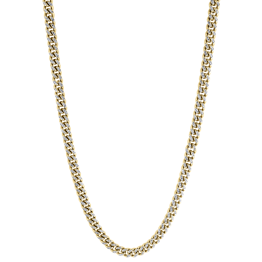 haircut in atlanta genuine miami cuban chain 2 75 ct 10k yellow 5499